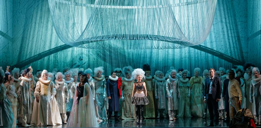 Un ballo in maschera en el Liceu. Foto: Patrice Nin