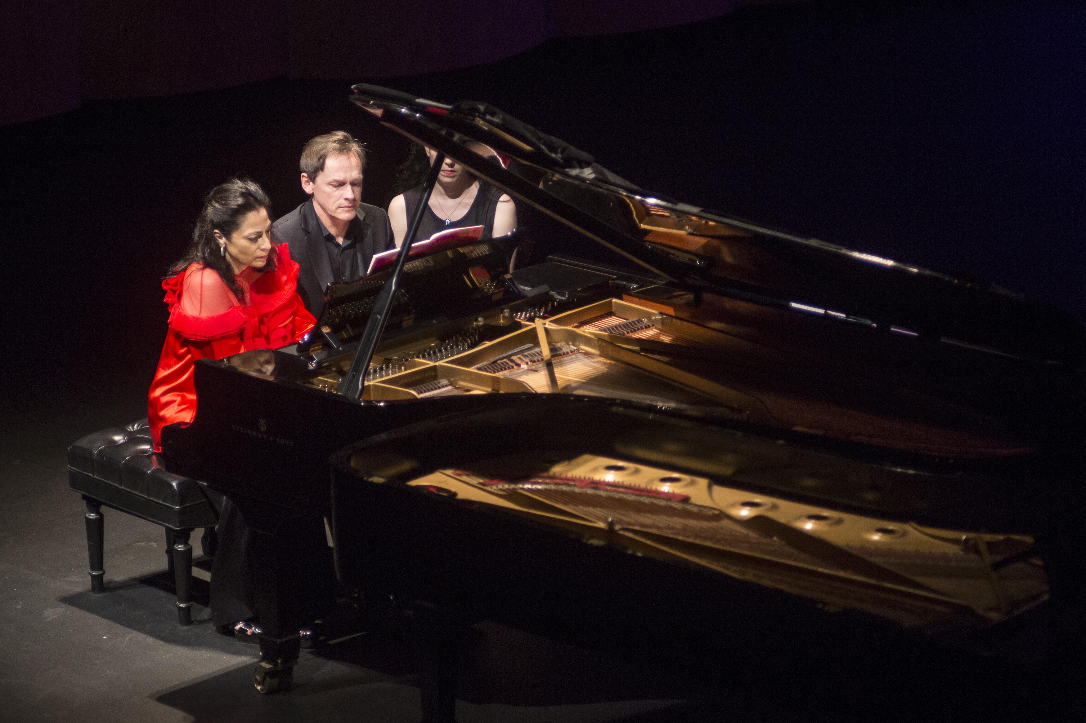 Recital de Marcela Roggeri y François Chaplin en Buenos Aires