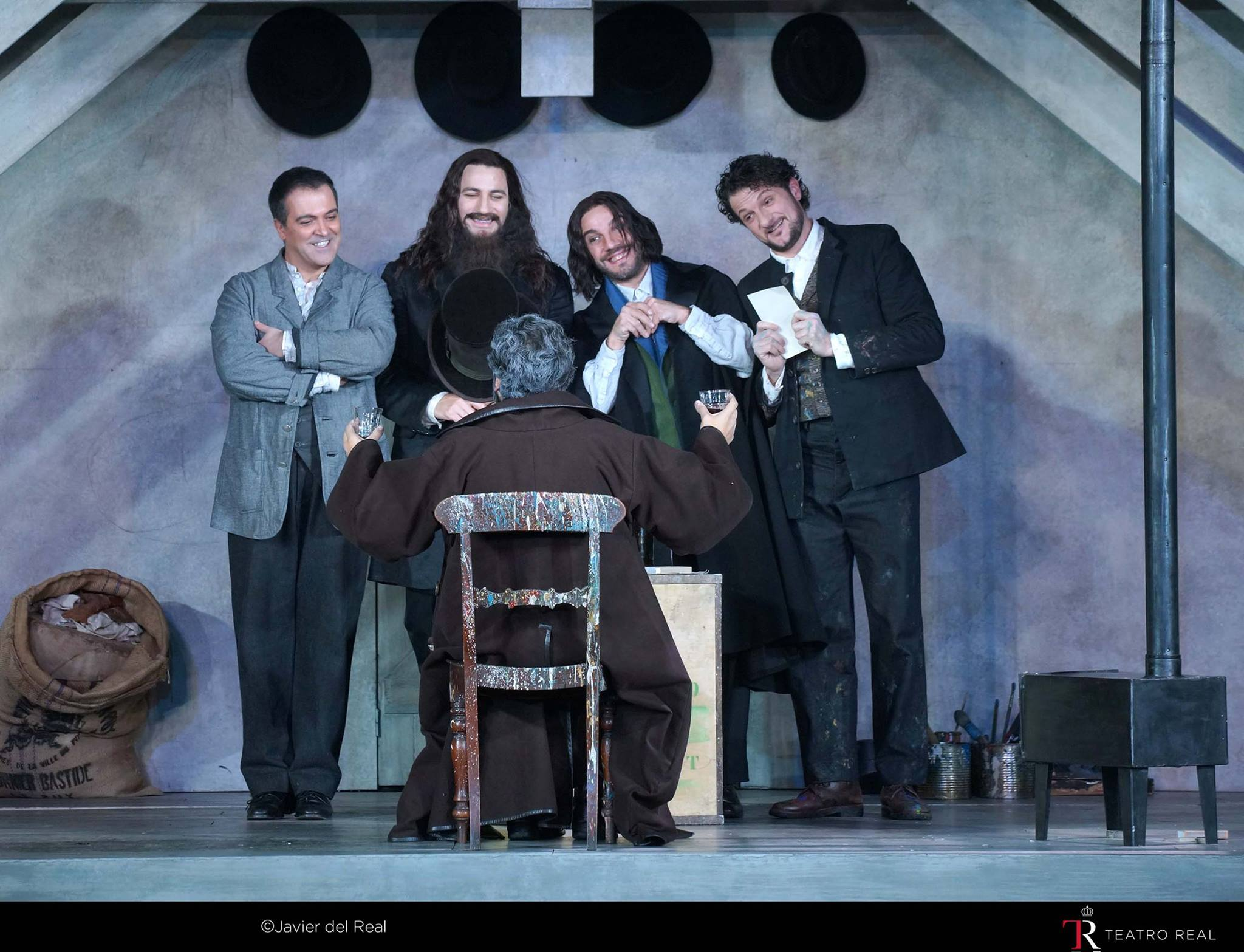 Un segundo reparto para La Bohème corto de emoción , pero con una voz importante