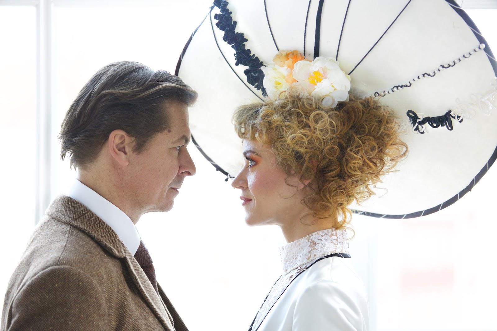Nadine Zeintl(Eliza Doolittle),Michael Dangl(Henry Higgins)©Christian POGO Zach
