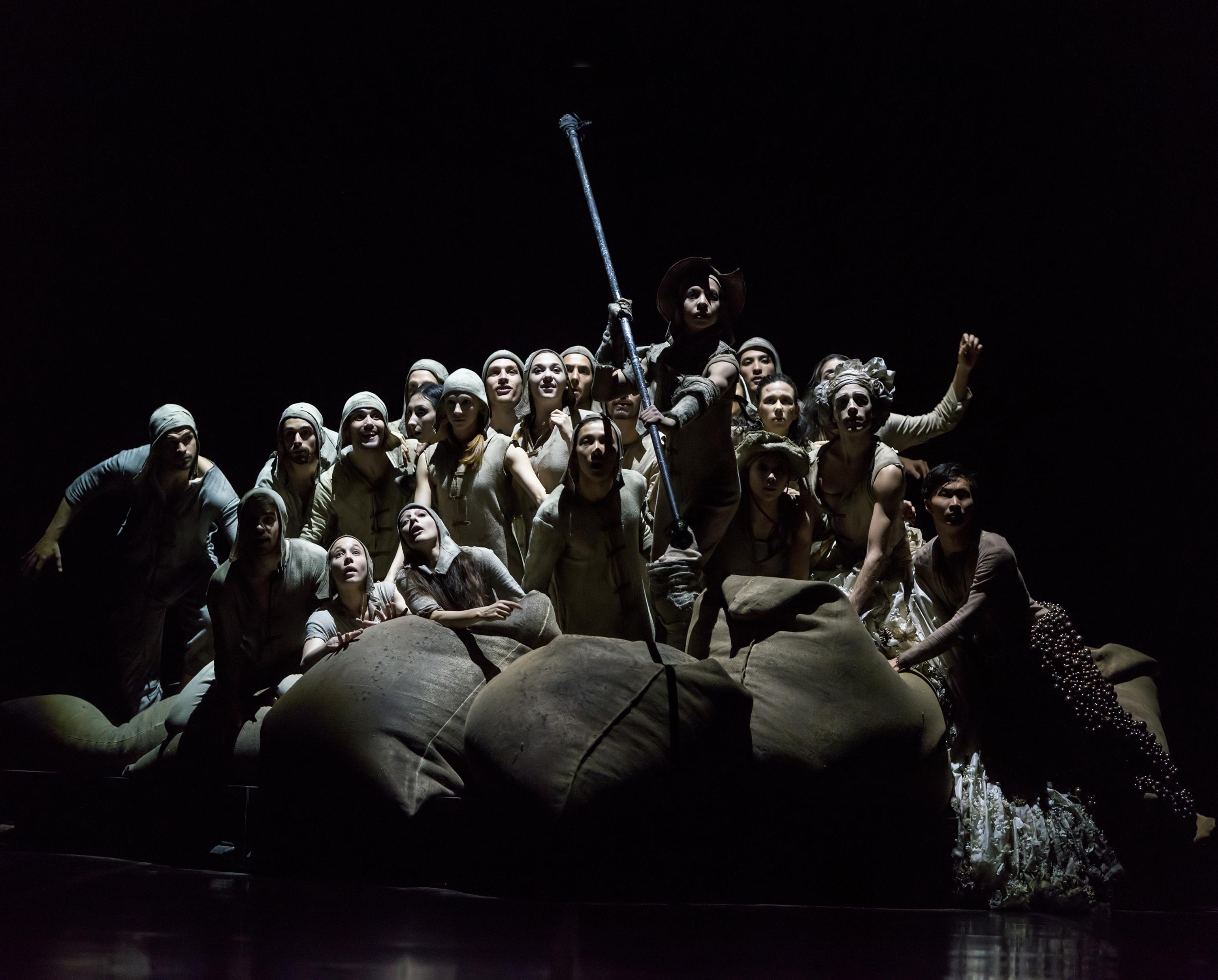 Don Quijote en versión de Goyo Montero para el Núremberg Ballet. Foto Jesús Vallinas