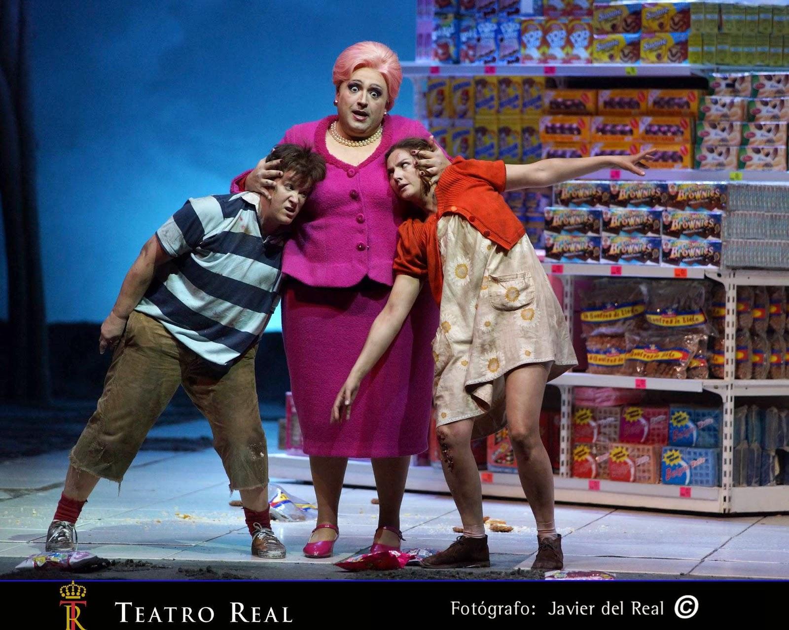 El Teatro Real acerca la ópera a los escolares de Castilla y León