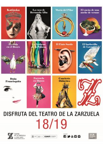 El Teatro de la Zarzuela presenta su Temporada 2018/2019 con el resurgir del género como una realidad