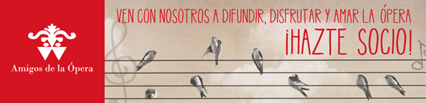Banner de la Asociación de Amigos de la Ópera