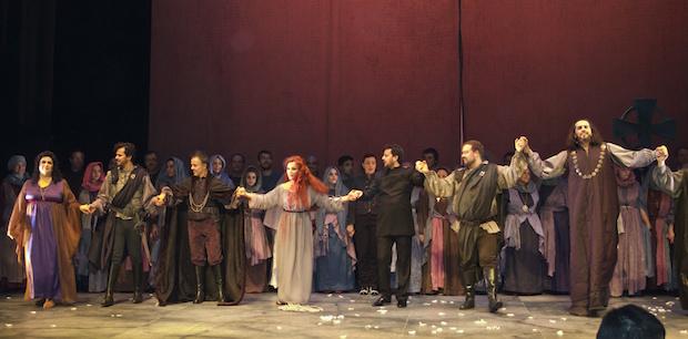 Crítica de Lucia di Lammermoor en Vigo
