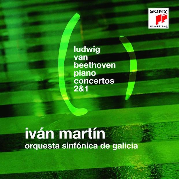 CD Iván Martin. Beethoven: Conciertos para piano 1 & 2