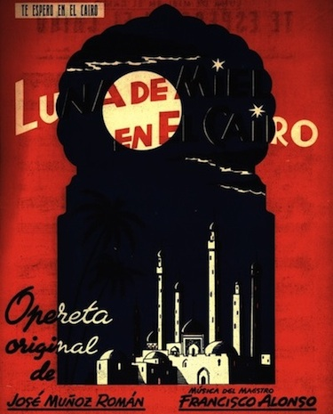 La Zarzuela presenta Luna de miel en El Cairo, de Alonso