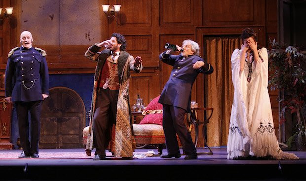 Die Fledermaus achieves great success at Vancouver's Queen Elizabeth Theatre