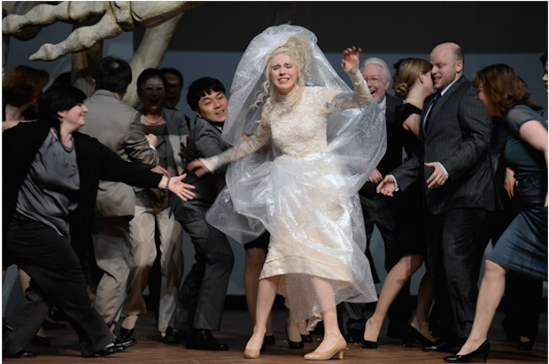 Rusalka en la Opernhaus de Frankfurt del Meno