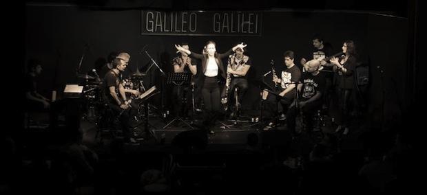 La L´Rollin Clarinet Band celebra su puesta de largo en el Teatro Galileo