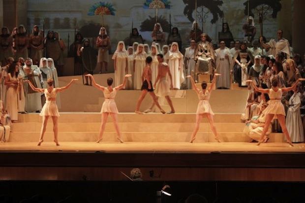 Aida en el Teatro Principal de Palma de Mallorca