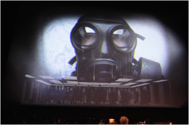 Un Ballo in Maschera, a new production of La Fura dels Baus at La Monnaie