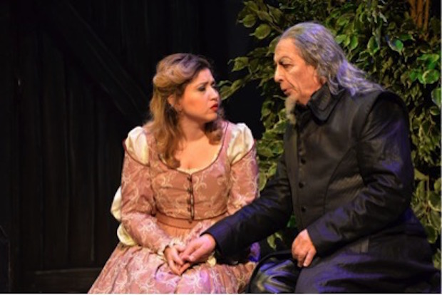 Escena de Rigoletto en Lieja Foto: Ph. Loubère