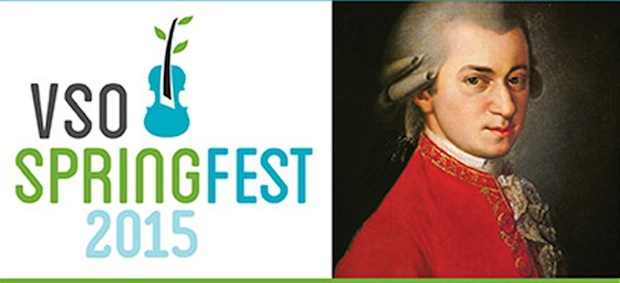The VSO's 2015 Spring Festival Begins Next Week: Mozart Plus!