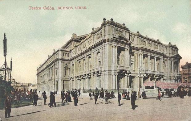 En el aniversario de la inauguración del Teatro Colón de Buenos Aires