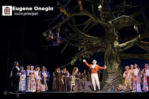 Eugene Oneguin en el Teatre Principal de Palma