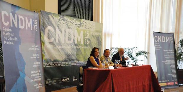 El CNDM presenta su temporada 2015-2016