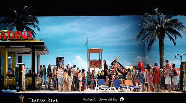 L'Elisir d'amore will open the 2015-2016 season in Brussels
