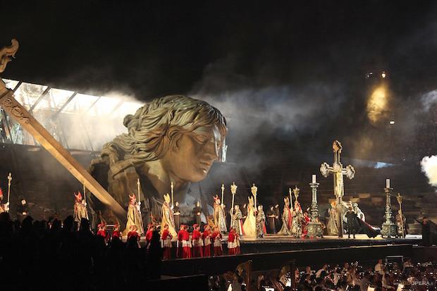 La Tosca all'Arena: la spada dell'Angelo sull'Arena