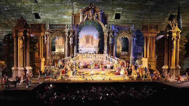 Il Don Giovanni dell'Arena: la magnificenza dello spettacolo e la bellezza delle voci