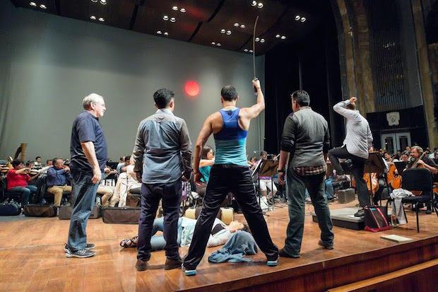 Crítica de Salomé de Strauss en México con Chris Merritt