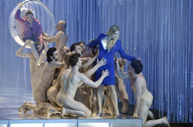 One of Calixto Bieito's stage productions in Madrid's Teatro Real (Wozzeck)