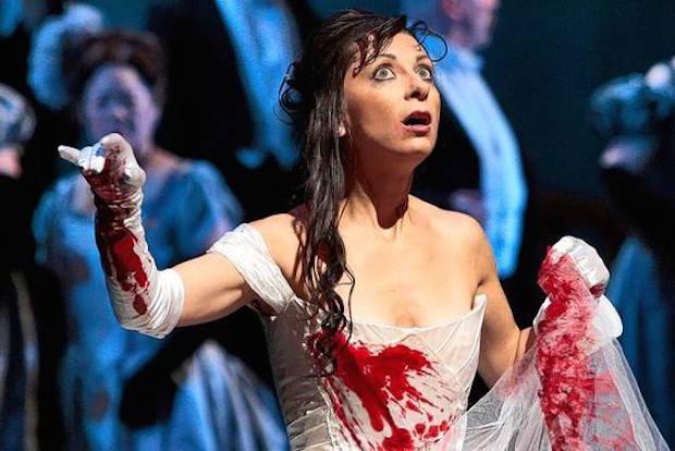Escena de Lucia di Lammermoor