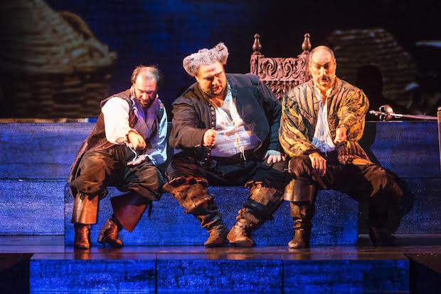 Escena de Falstaff en Oviedo