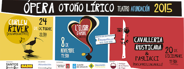 Amigos de la Ópera de Vigo inicia el Otoño Lírico con Curlew River