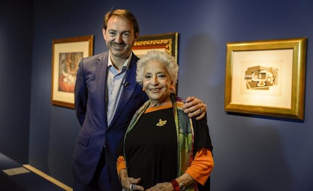Teresa Berganza nombrada patrona de la Fundación Vivanco