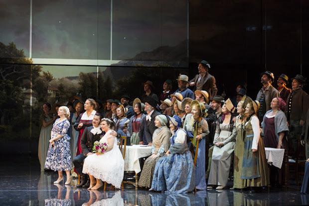 Le Theater-am-Gärtnerplatz ouvre la saison d´opéra avec une Sonnambula de rêve