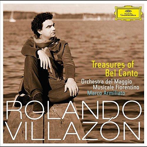 Treasures of Bel Canto, de Rolando Villazón: delicada voz entre arreglos orquestales