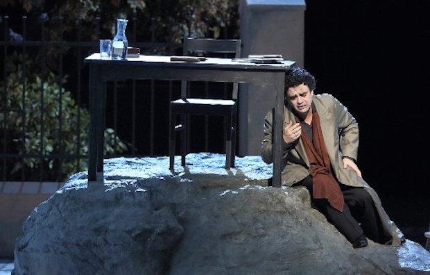 Werther de Massenet de Jürgen Rose au Bayerische Staatsoper