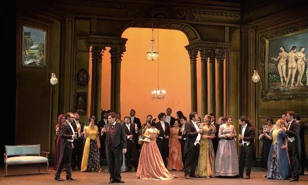 Una hermosa Traviata en Bogotá