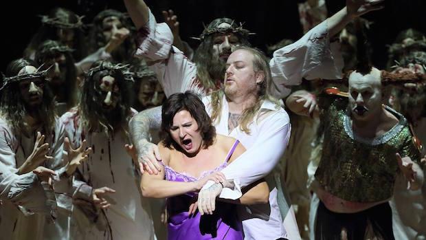 Barrie Kosky met en scène L´ange de feu de Prokofiev au Bayerische Staatsoper