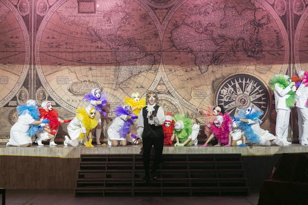Opérette: Candide de Bernstein à la Reithalle de Munich