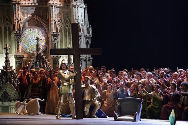 Anna Netrebko trionfa nella Giovanna D'Arco a Milano