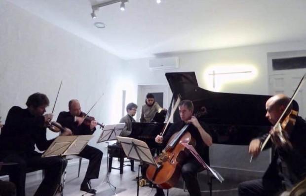 Concierto de Toccata en A: de cinco en cinco