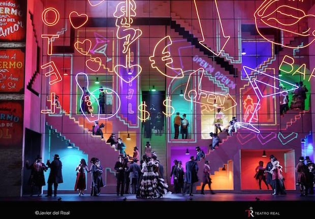 La prohibición de amar de Richard Wagner en Madrid: diversión inesperada