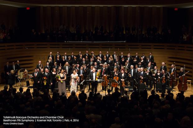 Concierto de la Orquesta Barroca Tafelmusik en Toronto