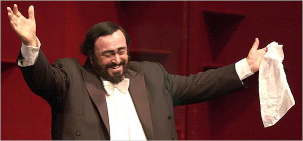 Luciano Pavarotti en Las Palmas