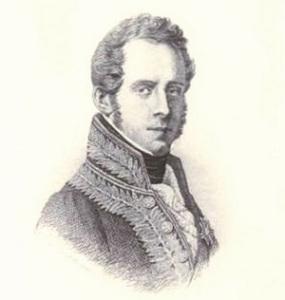 Francesco Di Bartolo (1826-1913); ritratto di Vincenzo Bellini, acquaforte