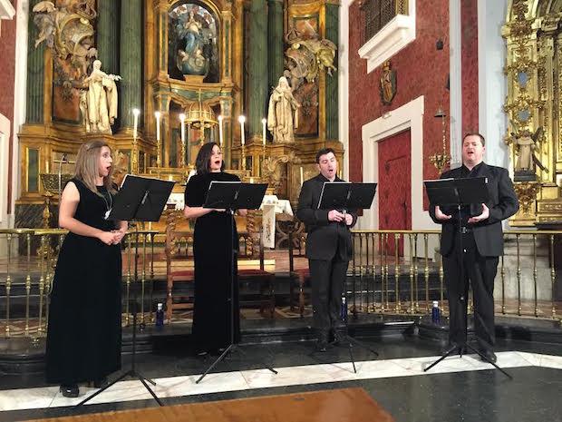 Recital del coro Gradualia: intimismo religioso y música sacra