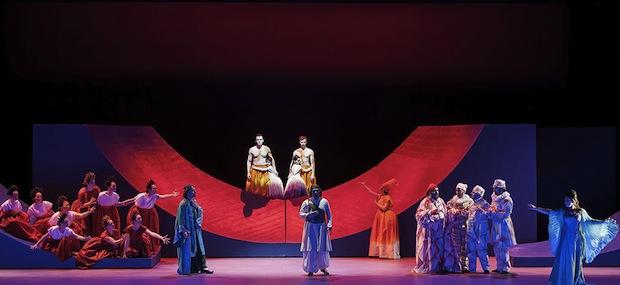 Una produzione spettacolare de La donna serpente a Torino
