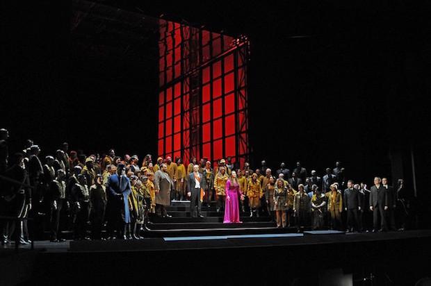 Tercer acto de Simon Boccanegra en el Liceu. Foto: A. Bofill