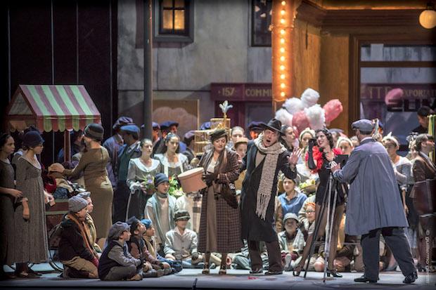 La Bohème en el Teatro Argentino de La Plata
