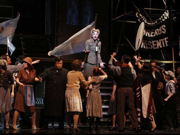 The Vancouver Opera's production of Evita is a disappointment. Photo: Tim Matheson