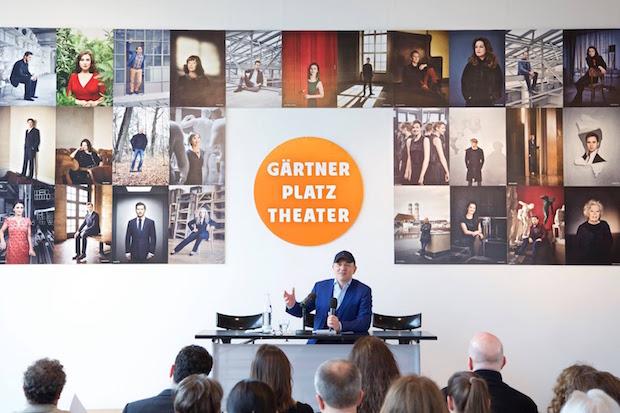 Josef E. Köpplinger présente la saison 2016-2017 Photo Christian POGO Zach