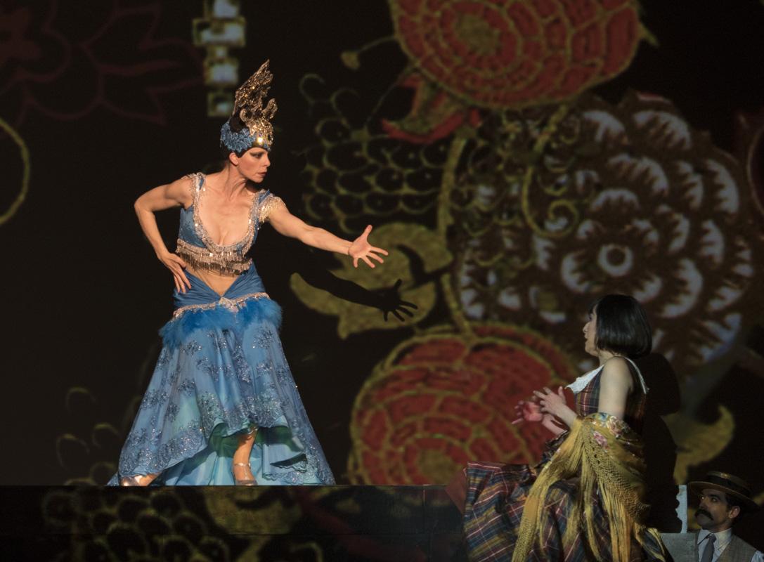Homenaje de Miguel del Arco a la bailarina Tórtola Valencia