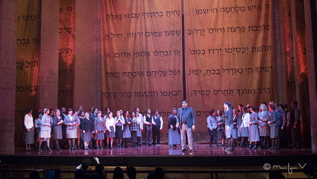 Nabucco en la XXX Temporada de ópera del Teatro Principal Palma. Foto: Margarita F. Villalonga